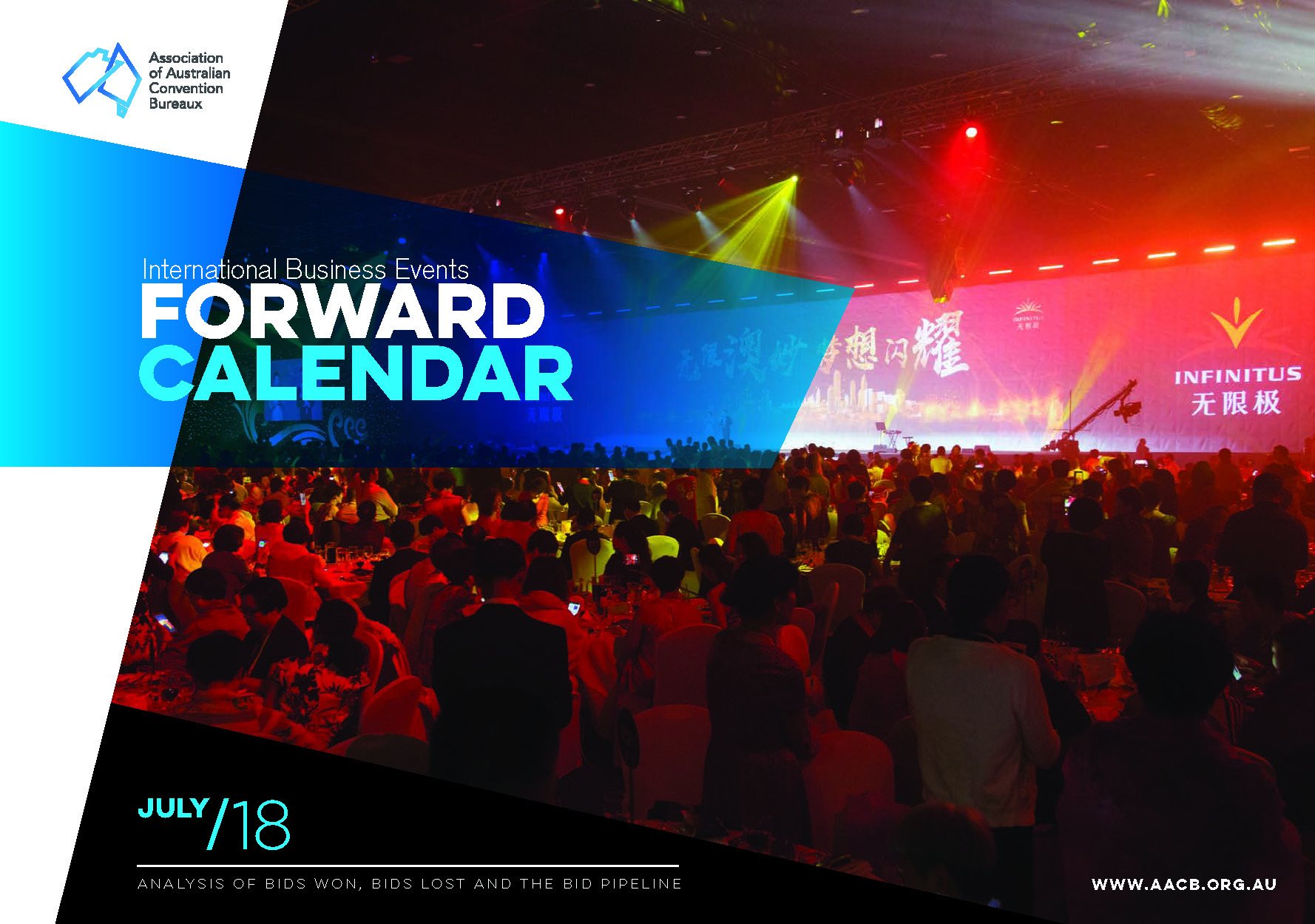 cover page of AACB Forward Calendar July 2018